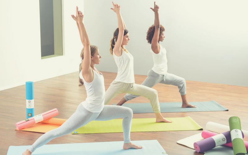 Meditations- oder Yogastudio 500x800