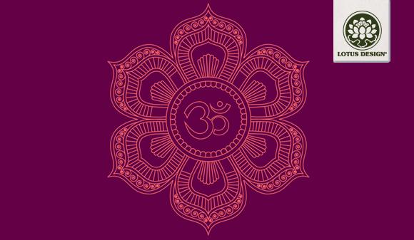 Yogamatte-Mandala