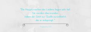 Zitat über die Kleshas aus dem Yogasutra