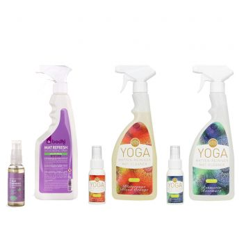 Yogamatten Spray