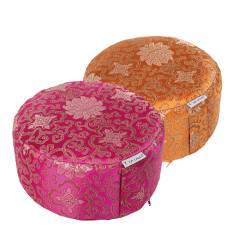 Meditation cushion classic brocade