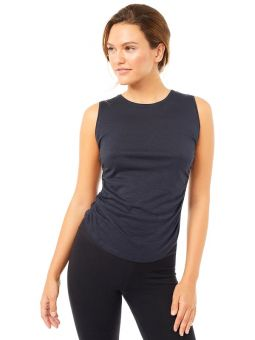 YOGA TOP - Side Ruffled Top