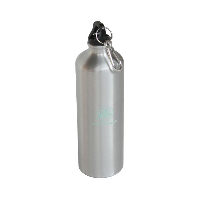 TRINKFLASCHE Aluminium silber