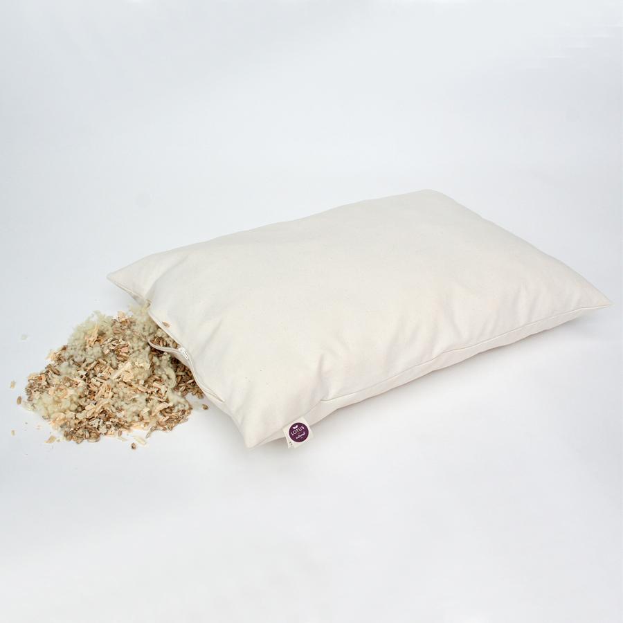 Kopfkissen Bio-Zirbe-Dinkel-Schurwolle